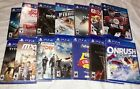 All Brand-New Playstation 4 Games PS4 Unopened & Factory Sealed