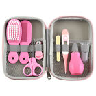 8PCS Newborn Baby Kids Nail Clipper Thermometer Grooming Brush Health Care Kit