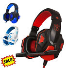 Gaming Wired 3.5mm Headset Headphone & Mic For PS4/Nintendo Switch/Xbox One/PC