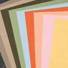 10 Assorted Sheets of A4 Mixed Colours 1mm Craft Felt - Choice of Colour Mixes