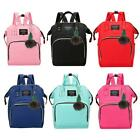 Solid Color Mommy Maternity Travel Backpacks Big Baby Nursing Diaper Bags Best