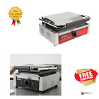Avantco/Galaxy Smooth Commercial Restaurant Panini Sandwich Grill Press Griddle