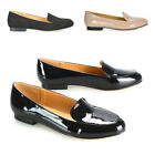 New Womens Flat Slip On Loafers Ladies Moccasins Casual Pumps School Shoes Size