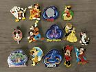 Costume Pin Brooch Lot Disney World Mickey Minnie