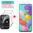 For Samsung Galaxy A51/A71 Rugged HD Screen Tempered Glass/Camera Lens Protector
