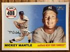 Mickey Mantle Home Run History Topps NY Yankees Complete Your Set -- MHR 403-499
