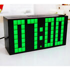 Digital Large Big Digits LED Wall Desk Clock With Calendar Temperature Display