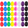More images of EVNEED 40 Pcs Plastic Egg Shakers Set Percussion Musical Egg Maracas Kids Toys 8