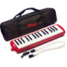 More images of Stagg MELOSTA32RD 32 Note Melodica with Case - Red