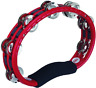 More images of Meinl Hand Steel Jingles Tambourine - Red