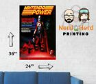 Nintendo Power Issue #2 Cover Wall Poster Multiple Sizes and Paper 11x17-24x36