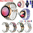 Sport Silicone Band Bracelet Strap For Samsung Galaxy Watch Active 2 42 40 44mm
