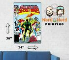 Marvel Secret Wars #11 1984 Cover Wall Poster Multiple Sizes 11x17-24x36