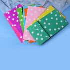 10*Popcorn Candy Gift Stand Up Dot Wrapper Bag Packing Pouch Kraft Paper PackaHH