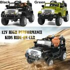 Jeep Kids Ride on Car 2 x 12V Powdered Remote Control LED Lights Horn MP3 Music