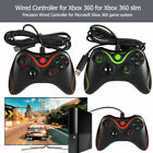 USB Wired Game Controller Gamepad for Microsoft Xbox 360 Slim PC Windows...