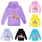 2020 Kids JoJo Siwa Hoodies Pullover Casual Hooded Long Sleeve Tops Jumper Hoody