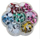 7-Color Googly Wiggly Wobbly Eyes SELF ADHESIVE Plastic Moving Eyes