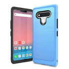 For LG Stylo 6 Phone Case, Slim Shockproof Cover+Tempered Glass Protector