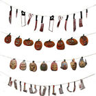 Halloween Fake Body Parts Bloody Weapon Party Decor Props Scary Garland Banner√
