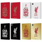 LIVERPOOL FC LFC 2020 CHAMPIONS PU LEATHER BOOK WALLET CASE COVER FOR APPLE iPAD