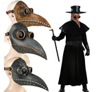 Plague Doctor Bird Mask Long Nose Beak Steampunk Medieval Cosplay Costume Props