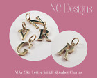 Genuine New 9kt Yellow Gold Solid Letter, Initial, Alphabet Charm Pendant A - Z
