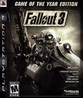Fallout 3 -- Game of the Year Edition (Sony PlayStation 3, 2009) Brand NEW!