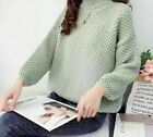 Winter Sweater For Women Cotton Long Sleeve Pullover Casual Coarse Knitwears New