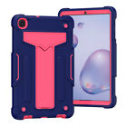 For Samsung Galaxy Tab A 8.0 8.4 10.1 Kids Rubber Handle Stand Tablet Case Cover