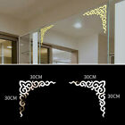 Mirror Wall Stickers Flower Vine Removable Mural Decal Home Decoration