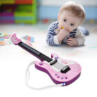 Kids Little Electric Guitar Toy with Rhythm Lights and Sounds Fun Education A6Y6