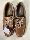 NEW $98 SPERRY Top-Sider Intrepid 2-Eye Men Leather Boat Shoes Brown SELECT SIZE