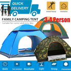 US Tent Camping Pop UP Waterproof Automatic Instant Outdoor Beach Hiking US SALE