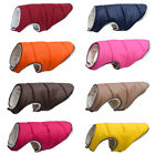 Warm Winter Dog Clothes Reflective Clothing Vest Fleece Pet Jacket Dogs Coat Nd
