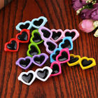 New Pet Lovely Heart Sunglasses Hairpins Pet Dog Bows Hair Clips   Jo