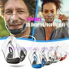 10x Mask Face Shield Combine Transparent Facemask Bracket Lip Reading New