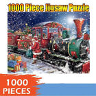 1000 Piece Christmas Snowman Puzzles Jigsaw Puzzle Children Adult Xmas DIY Gift