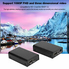 1080P POE CAT6/6A/7 HDMI1.3 To HDMI1.3 2in 1 Video Adapter TV Extender 100-240V