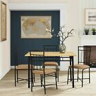 Dining Room Set for Small Spaces, Dining Table Set, Dining Room Table, 5 Piece