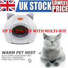 Cat Cave Bed Pet kitten for Indoor Cozy House Cat Bed Igloo Warm Nest Kennel NEW