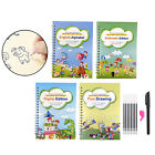 A Set English Magic Practice Copybook,Reused Handwriting Copybook Set,Tracing