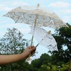 Wedding Umbrella Sun Parasol Bridal Shading Protection Accessory Embroidered New