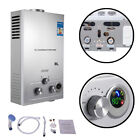 Minneer Natural Gas Tankless Water Heater Adjustable Portable Indoor Outdoor RV