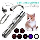 1* Pet Cat Kitten Toy Laser Pointer USB Rechargeable 2020 LED BEST Pen Hot