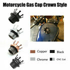 Crown Gas Tank Oil Cap For Harley Road King Sportster 883 1200 XL1200X XL1200V