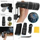 16X52 HD Optical Dual Focus Monocular Day/Night Vision+Phone Holder for Hiking
