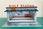 Pre-order BOB 1:64 Diorama Gulf Station Garage Led without/with acrylic case