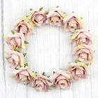 """Pale Pink 50Pcs 2"""" Rose Artificial Silk Flowers Heads for Wedding Home Decor"""