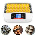 Automatic 32 Eggs Incubator with Automatic Egg Turner and Smart Temperature